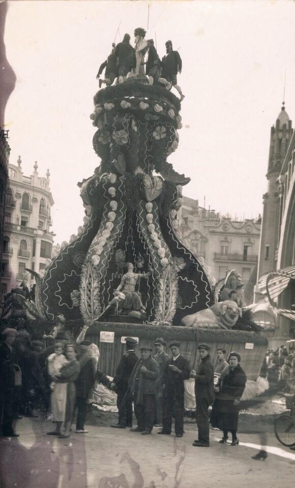 Falla Mercat de Colón, 1931. A. P. R. S.