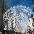 Fallas 2015 Calle iluminada de la Falla Avda Malvarrosa (Proyecto e inauguración) (3)
