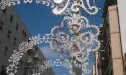 Fallas 2015 Calle iluminada de la Falla Avda Malvarrosa (Proyecto e inauguración) (4)