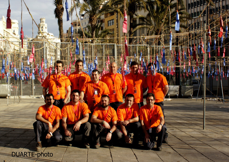 Fallas 2015; Mascletà a cargo de la pirotecnia Alpujareña de Ugijar  (1)