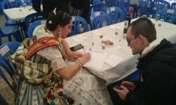 Fallas 2015. La Falla Plaza de la Merced celebra el día de los colaboradores (1)