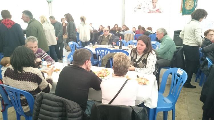 Fallas 2015. La Falla Plaza de la Merced celebra el día de los colaboradores (11)