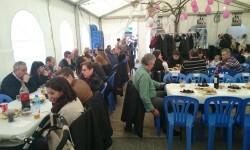 Fallas 2015. La Falla Plaza de la Merced celebra el día de los colaboradores (16)