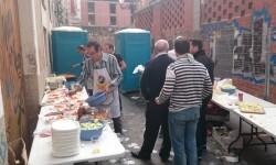 Fallas 2015. La Falla Plaza de la Merced celebra el día de los colaboradores (18)