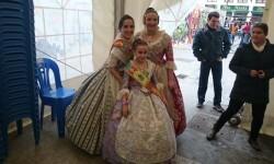 Fallas 2015. La Falla Plaza de la Merced celebra el día de los colaboradores (2)