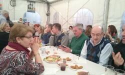 Fallas 2015. La Falla Plaza de la Merced celebra el día de los colaboradores (4)
