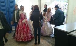 Fallas 2015. La Falla Plaza de la Merced celebra el día de los colaboradores (5)