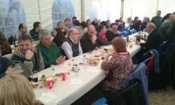 Fallas 2015. La Falla Plaza de la Merced celebra el día de los colaboradores (8)