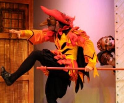 Fotgrafía de archivo de una obra de teatro.