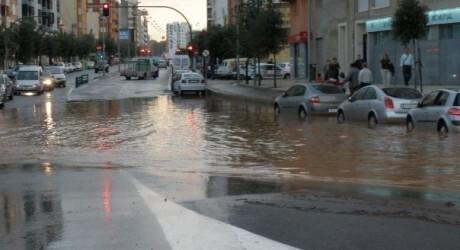 Fotografía de la ciudad de Castellón sobre las 10 de la mañana de hoy.
