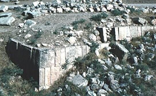Fotografía de partes de los restos arqueológicos pertenecientes a la mítica ciudad tomada en 2011.