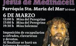 Fragmento del cartel de festejos de Jesús de Medinaceli de Valencia.