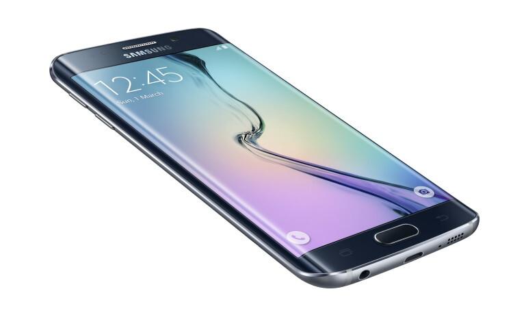 Galaxy S6 Edge_Left Front_Dynamic_Black Sapphire