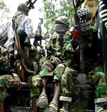Hombres armados de Boko Haram en una imagen de archivo. (Foto-AFP)