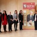 Homenaje a Pere Maria Orts en la Sala de Exposiciones de San Miguel de los Reyes.