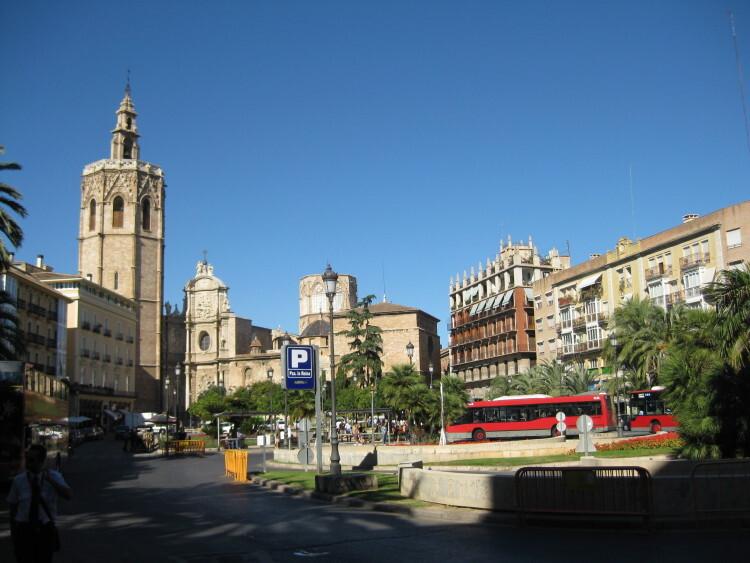 La plaza de la Reina. Foto: Javier Furió
