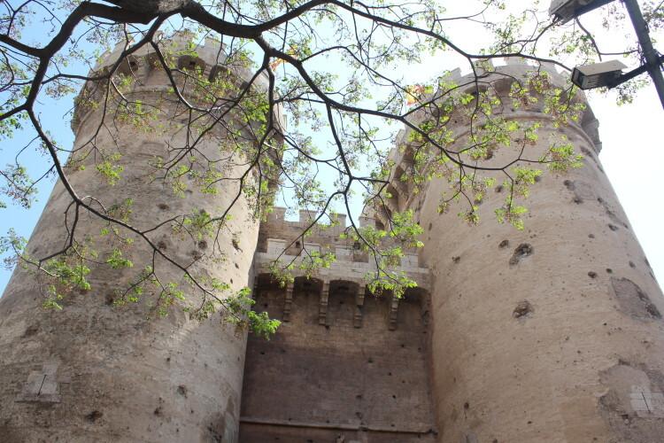 Torres de Quart, en Valencia. Foto: Javier Furió