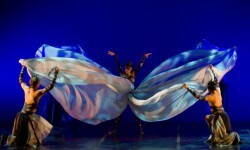 Imagen de un ballet durante un ensayo.