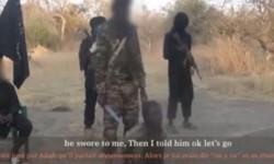 Imagen de un vídeo difundido por el grupo armado en la zona donde se origino la masacre. (Foto-AFP)