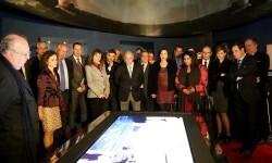 Inauguracion de la exposición sobre la Fragata Mercedes.