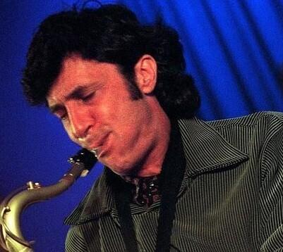 Jorge Pardo en una actuación en Valencia.