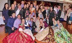 La Gala Fallera de Alboraya reúne a todas las Falleras Mayores del municipi (1)