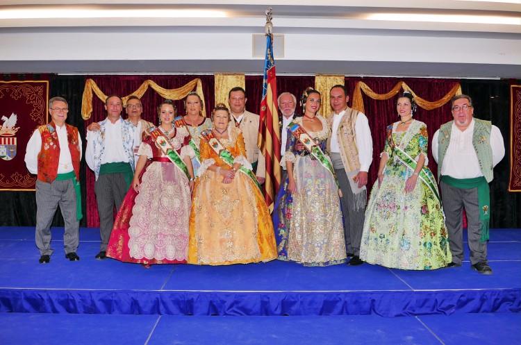 La Gala Fallera de Alboraya reúne a todas las Falleras Mayores del municipi (2)