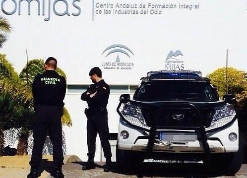 La Guardia Civil detuvo a 16 personas está mañana.
