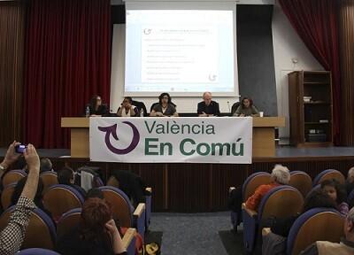 La IV Asamblea se celebró en el salón de actos de la Facultad de Geografía e Historia.