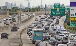 La autopista I-95 de Florida en dirección a Massachusetts.