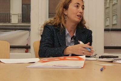 La líder de Ciudadanos, en la Comunitat Valenciana, apuesta por una gestión de transperencia y  sin ' class=