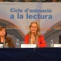 La periodista y escritora Isabel San Sebastián visitó la Bibliteca Valenciana.