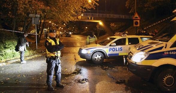 La policía sueca investiga los hechos y descarta la acción terrorista. (Foto-Agencias)