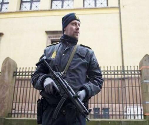 La policia danesa mantiene un férreo control en todo el país. (Foto-Agencias).