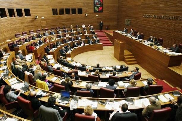Les Corts Valencianes. (Foto-Archivo)