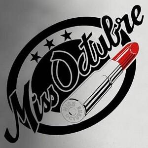 Logo de la banda Miss Octubre.