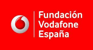 Logotipo de la Fundación Vodafone.