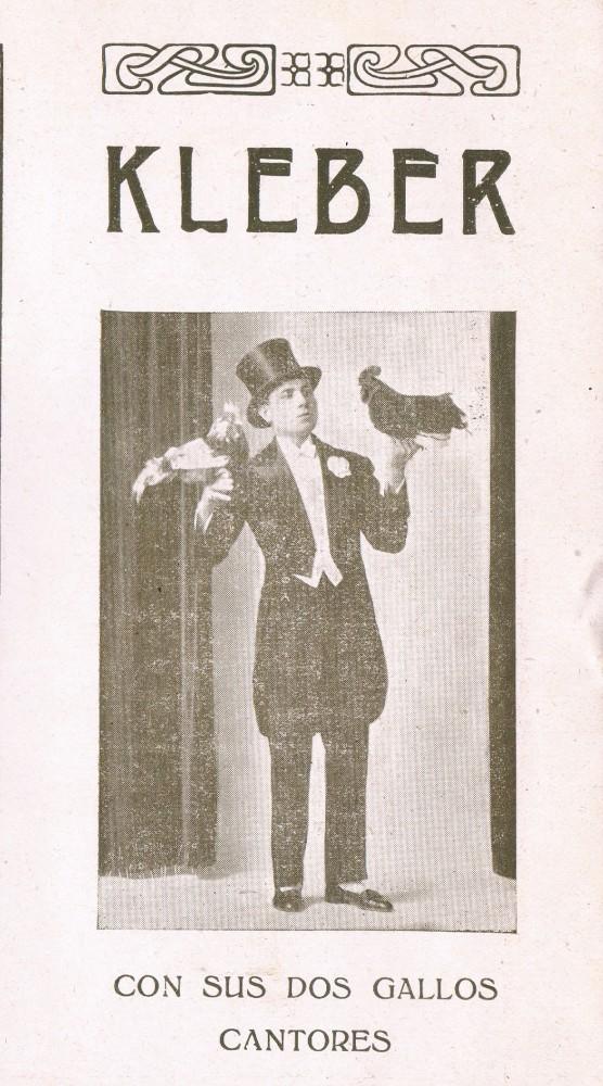 Los Gallos Cantores. American Cirque. Valencia, 1927. A. P. R. S.