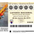 Lotería Nacional, sorteo de lotería nacional del sábado 28 de marzo de 2015