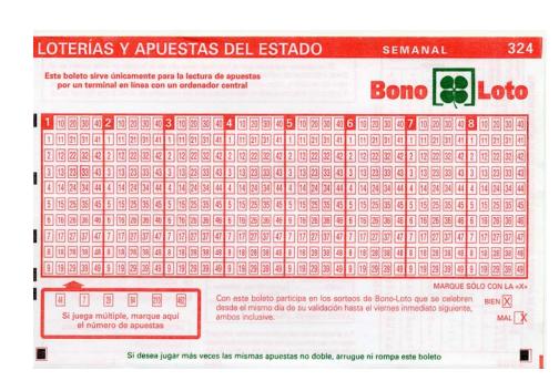 Más sorteos de BonoLoto