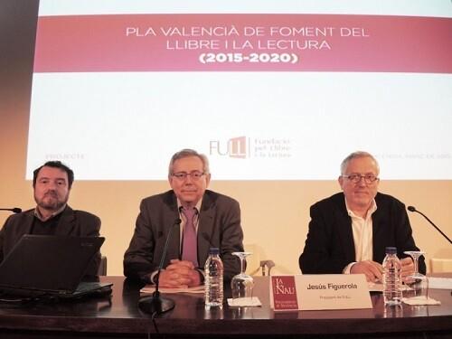 Manel J.M. Romero, Antonio Ariño i Jesús Figuerola (Foto García Poveda)