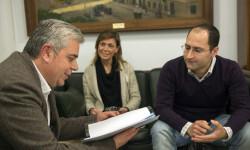 Medina se reúne con DASYC CV. Foto: Abulaila