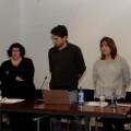 Miembros de València en Comú-Guanyem en su presentación de ayer.