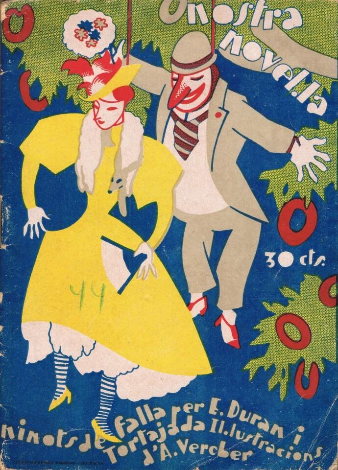 Ninots de falla,1931. A. P. R. S.