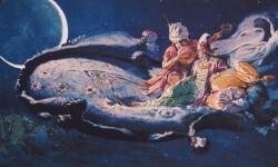Obra de Segrelles inspirada en 'Las mil y una noche'.