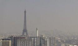París alcanzó una peligrosa tasa de contaminación que preocupó a las autoridades. (Foto-Agencias)