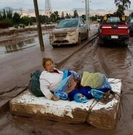 Para muchos chilenos la situación es crítica.