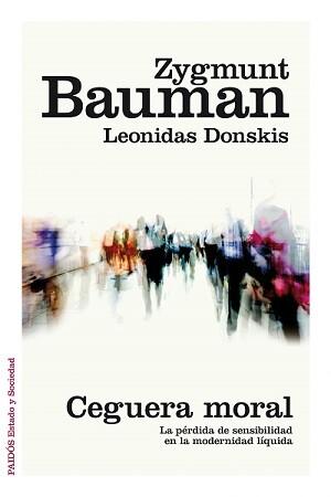 Portada del nuevo ensayo de Zygmunt Bauman.