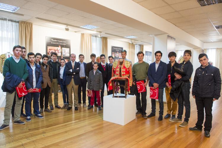 Presentación de la memoria anual de la Escuela de Tauromaquia. Foto: Abulaila