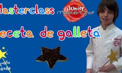 Receta galleta por Manuel marterchef junior Valencia Fundacion pequeño deseo